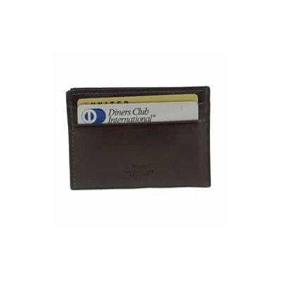 Bosca Mens Old Leather Weekend Wallet (Dark Brown)