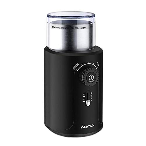 Electric Coffee Bean Grinder with Stainless Ste...