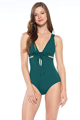 Becca-by-Rebecca-Virtue-Womens-Color-Code-One-Piece-Cutout-Swimsuit