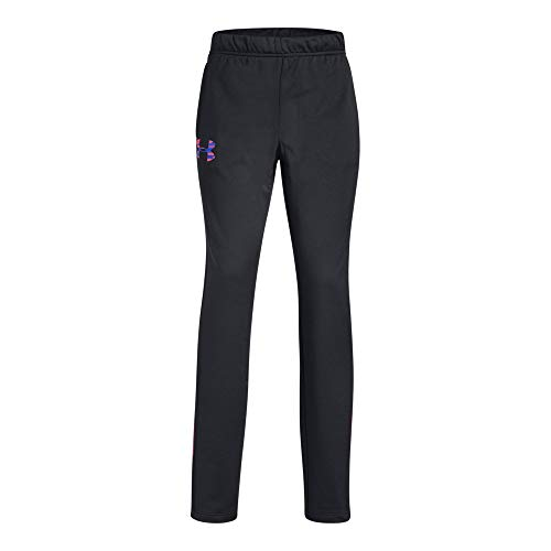 Girls Tricot Brushed Pant - Under Armour UA Track YMD Black