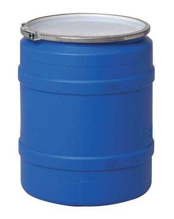 Transport Drum, Open Head, 20 gal., Blue