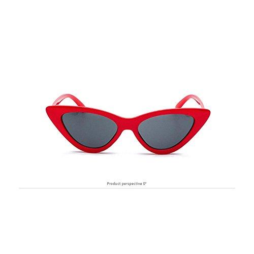 Retro Look UrbanoCon Polarizzate Per Adatto Che Uomini Alla A Al Sole Hd Proteggono Gli Moda Gatto E alla Occh Struttura Stile Red Di DonneDallo Forma Occhi Da PawacaOcchiali LeggeraLenti LR3Aq54j