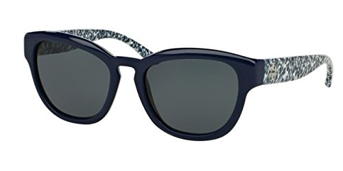 Tory Burch Womens Sunglasses (TY9040) Blue/Grey Plastic - Non-Polarized - - Tory Burch Hut Sunglass
