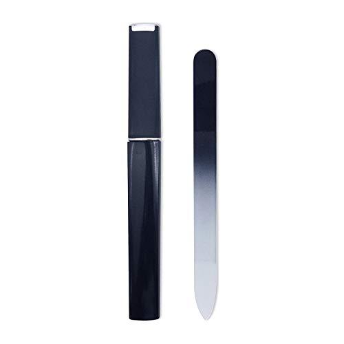 Black/Cobalt Fingernail File for Nail,Crystal Nail File by Bona Fide Beauty