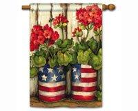 Patriotic American Flag Glory Garden 28
