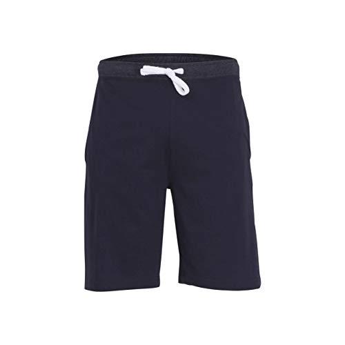 TOM TAILOR Herren Kurze-Hose blau Uni 1er Pack