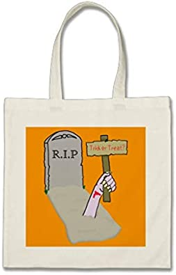 Awakening Zombie Halloween Bolsa de la compra bolsa de regalo para mujeres abuelas, mamá, madre plantilla
