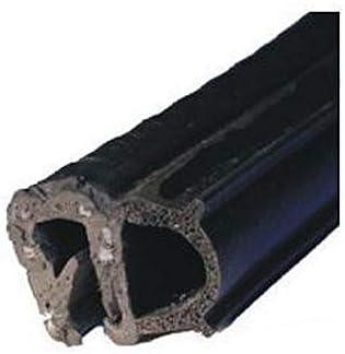 EUTRAS profilo guarnizione KSD2055 guarnizione in gomma guarnizione portiera auto campo di serraggio 1,5-3,5 mm venduto al metro