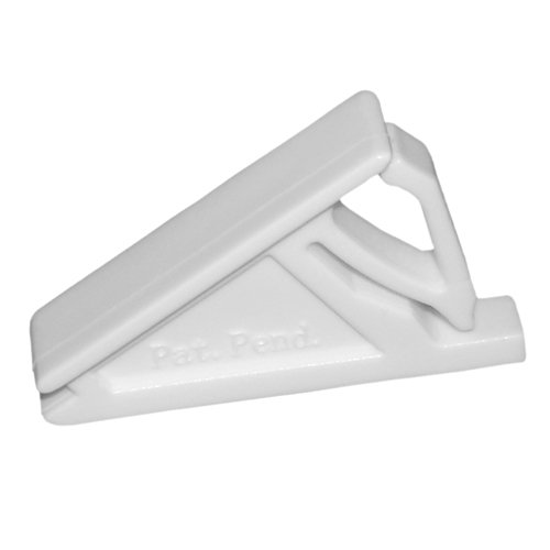 Window Vent Lock (Set of 10pcs White Window Sash Vent Stops 1722WHITE)