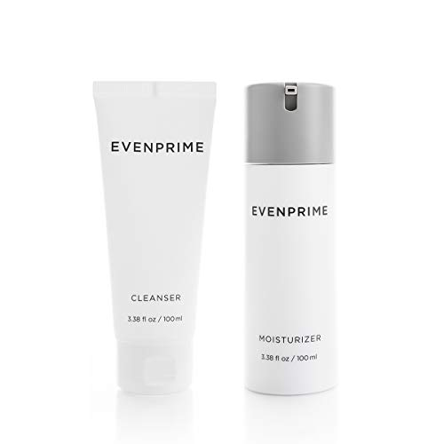 EVENPRIME Bundle Set | Premium Two-Step Skincare Routine | Moisturizer + Cleanser | Vegan, Cruelty-Free | For All Skin Types