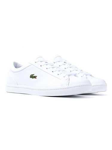 Lacoste Straight Set Donna Sneaker Bianco