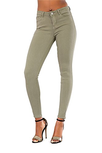 Lustychic Green Green Donna Green Jeans Donna Lustychic Green Donna Donna Lustychic Jeans Jeans Lustychic Jeans gqC465nxX