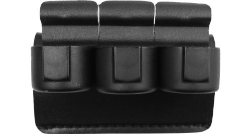 (Safariland 333-2-2-175 Speedloader Holder Black, Plain for 1.75-Inch Belt Comp II)