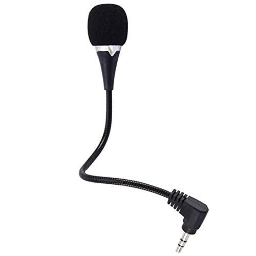 Studio Teaching - Stereo Mini 3.5mm Jack Flexible Microphone Studio Teaching for PC Laptop Notebook Laptop Accessory