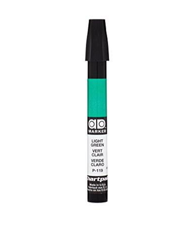 The Original Chartpak AD Marker, Tri-Nib, Light Green, 1 Each (P119)