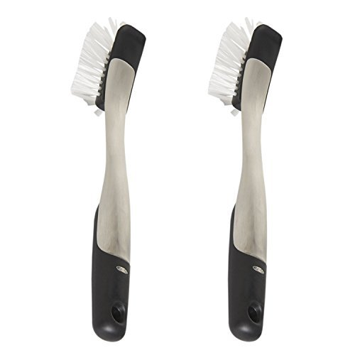 OXO SteeL Dish Brush, 2-Pack