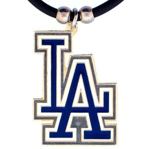 La Dodgers Pendant (Los Angeles Dodgers Logo Pendant Necklace)