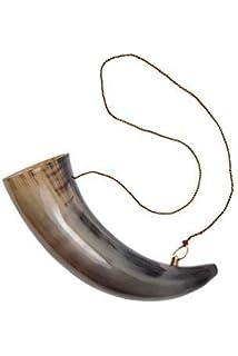 Wikinger-Tr/öten 3er Set aus Horn