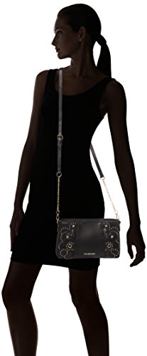 Vitello Sacs Love Cm H T Borsa X Smooth Noir 6x16x28 Nero Femme Portés black Épaule Moschino b Erppqwx7XS