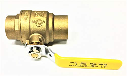 1 2 ball valve sweat - 1
