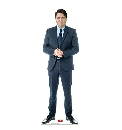 Advanced Graphics Canadian Prime Minister Justin Trudeau Life Size Cardboard Cutout Standup