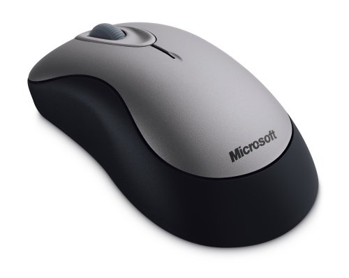 Microsoft Wireless Optical Mouse 2000- Sterling Grey ( 69J-00002 ) by Microsoft