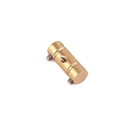 Musiclily Pro 54mm Brass Vintage Style Compensated Telecaster Bridge Saddle Set for Fender American Tele Replacement (Pack of 3) by Musiclily (Image #3)