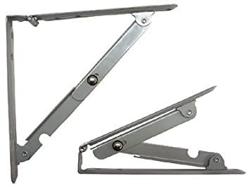 Folding Shelf Bracket Sp1794 8in X 8in Sold In Pairs by Parker