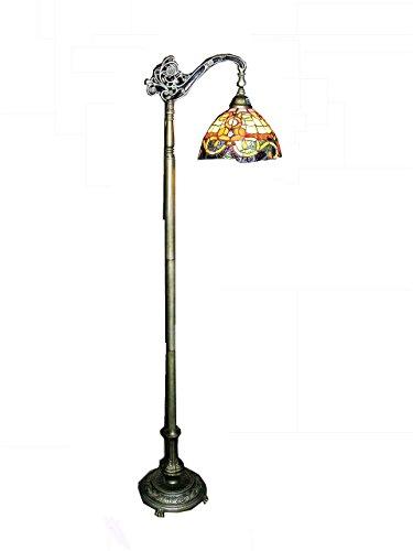 Whse of Tiffany BR-160123 Tiffany-Style Rome Reading Lamp