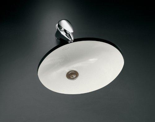 KOHLER K-2209-0 Caxton Undercounter Bathroom Sink, White