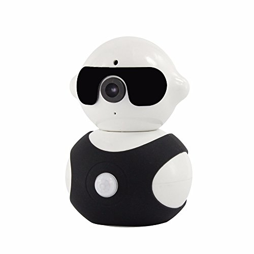 Celendi Robot 960P Wireless WiFi Pan/Tilt IP Camera Home Security Surveillance System Baby Monitor with IR Night Vision, Two-way Audio, Motion Detection and Alerts, Mobile Android/iOS/iPad/Tablet View (900 Mhz Video Baby Monitor)