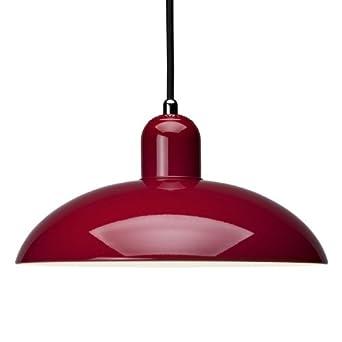Kaiser Idell 6631 P lámpara de techo colgante, rojo: Amazon ...