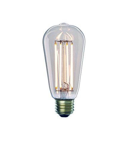Bulbrite 776667 7W 2700K LED7ST18/27K/FIL/2 LED ST18 Light B