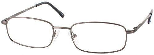 Eurospec 43 Progressive No Line Bifocal Designer Reading Glasses, Gunmetal, +1.75 by Eurospecs