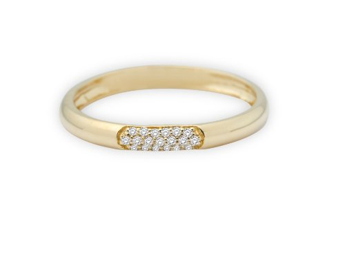MIORE MF9008RYP – Anillo de oro amarillo de 9 quilates con diamante (.06), talla 16 (17,84 mm) MIORE MF9008RYP – Anillo de oro amarillo de 9 quilates con diamante (.06), talla 16 (17,84 mm) MIORE MF9008RYP – Anillo de oro amarillo de 9 quilates con diamante (.06), talla 16 (17,84 mm)
