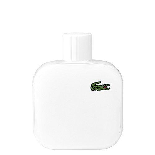 Lacoste Eau de Lacoste L.12.12 Blanc Eau de Toilette for Men, 3.3 fl. oz.