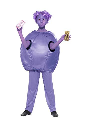 Smiffy's Officially Licensed Roald Dahl Deluxe Violet Beauregarde Costume