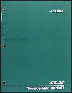 1997 Acura SLX Repair Shop Manual Original