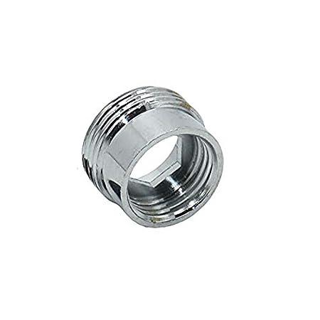 COMEYOU Adaptador de Grifo 2PCS Conector de Grifo de Cocina Metal s/ólido para purificador de Agua 16 mm Hembra a 22 mm Macho