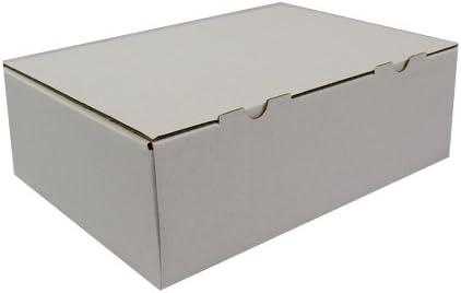 VK - Cajas de cartón plegables (60 unidades), color blanco: Amazon.es: Oficina y papelería