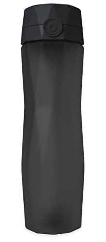 (Hidrate Spark 2.0 Smart Water Bottle (Black) - Tracks Water Intake & Glows to Remind You to Stay)