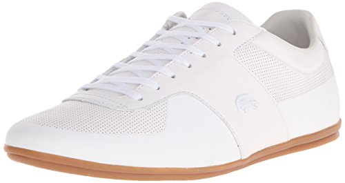 116 Lacoste Fashion Mens White Mens 1 Sneaker Turnier Lacoste YIExEwq8d
