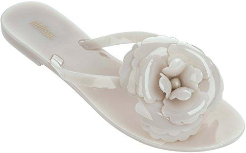 Milk Flower Thong Melissa White Harmonic Women's Sandals qPYZwp