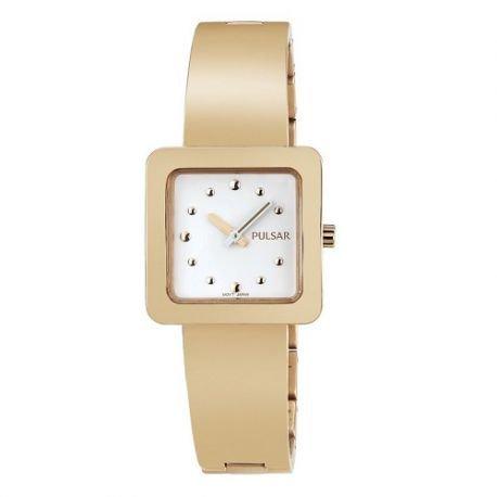 Pulsar Reloj modelo arty Golden horas rosa y oro – pm2196 ...