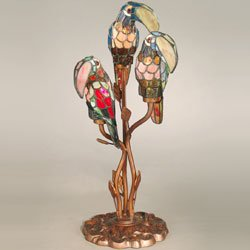 Birds Tiffany Table Lamp - 3