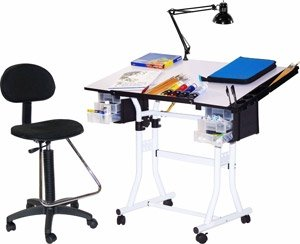 Martin Designs Home Office Universal 4-piece Creation Drafting Drawing Table by Martin Designs