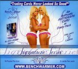 Benchwarmers 2008 Signature Edition Trading Card Box of 10