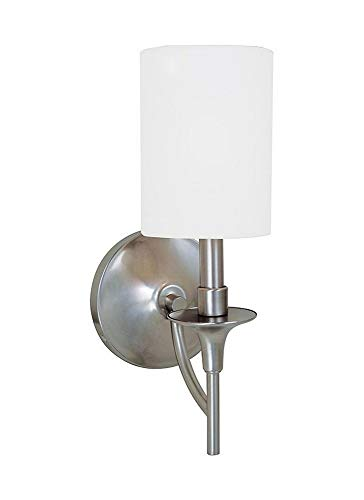 Sea Gull Lighting 41260EN-962 One Light Wall/Bath Sconce Brushed ()