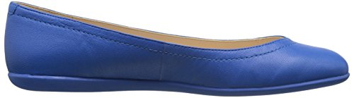 Nine West Zarong Ballet de cuero plano Blue