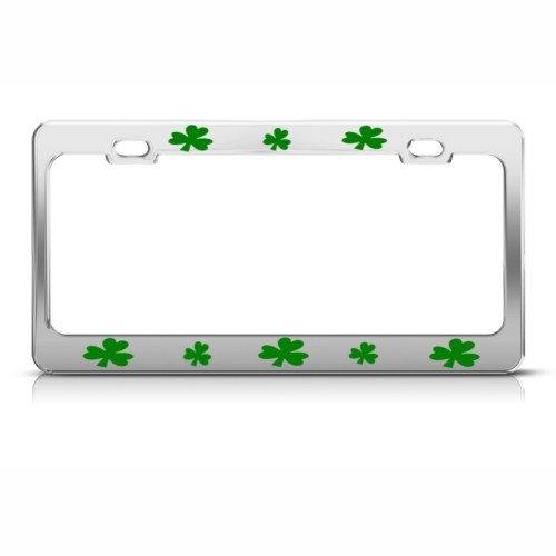license plate frame shamrock - 9